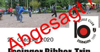 Bibber-Trip Abgesagt !